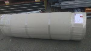policarbonato compatto sp, 5 mm trasparente, imballato in cilindro