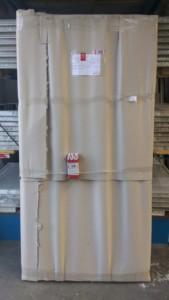 Porta tamburata 205 x 100 cm imballata
