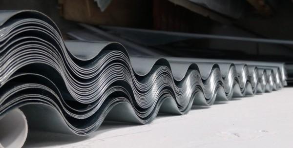 lamiera ondulata zincata